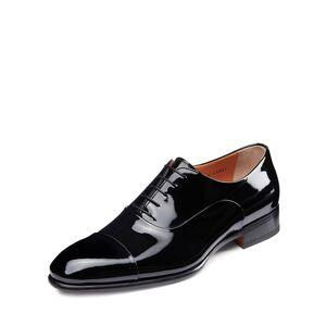 Santoni Men's Isaac Patent Leather Lace-Up Shoes - Size: 12D