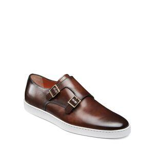 Santoni Men's Freemont Double-Monk Leather Sneakers - Size: 11D