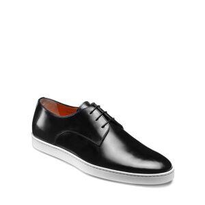 Santoni Men's Doyle Leather Sneakers - Size: 10.5D