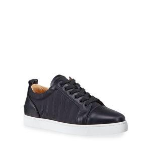 Christian Louboutin Men's Louis Junior Orlato Tonal Stripe Sneakers - Size: 50 EU (17D US)