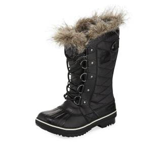 Sorel Tofino™ II Fur-Trim Quilted Boots  - BLACK - Gender: female - Size: 8B / 38EU