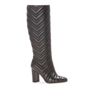Marion Parke Dion Quilted Napa Knee Boots