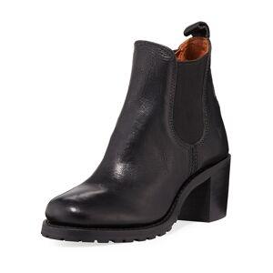 Frye Sabrina Leather Chelsea Boots - Size: 9B / 39EU