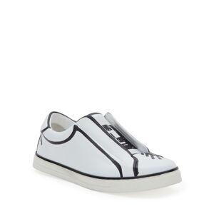 Fendi Logo Low-Top Skater Sneakers - Size: 7B / 37EU