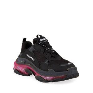 Balenciaga Triple Clear-Sole Trainer Sneakers - Size: 11B / 41EU