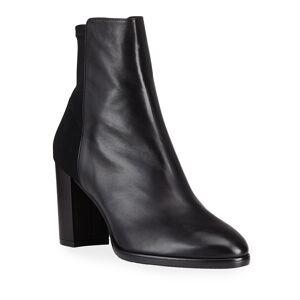 Stuart Weitzman Harper Stretch Ankle Boots  - BLACK - Gender: female - Size: 7B / 37EU