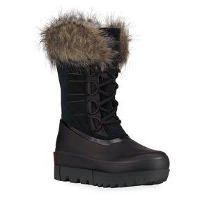 Sorel Joan of Arctic Next Waterproof Winter Boots w/ Faux-Fur Collar  - BLACK - Gender: female - Size: 5.5B / 35.5EU