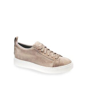 Santoni Clean Icon Stretch Suede Low-Top Sneakers - Size: 9.5B / 39.5EU