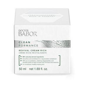 BABOR 1.7 oz. Cleanformance Revival Cream Rich  - Size: female