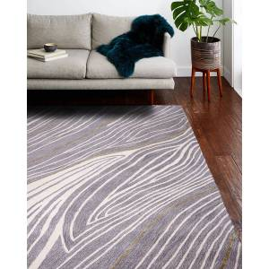 Tangier Hand-Tufted Rug, 5.6' x 8.6' - GREY