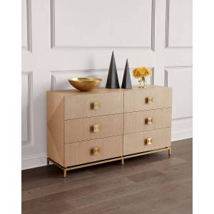 Interlude Home Gaspard 6-Drawer Dresser