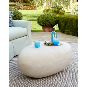 Philips Riverstone Outdoor Table - WHITE