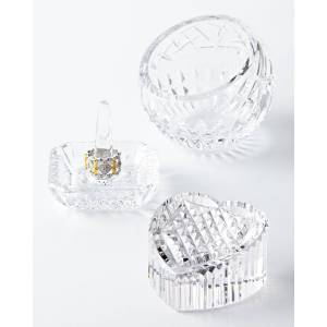 Waterford Crystal Lismore Square Ring Holder  - Size: unisex