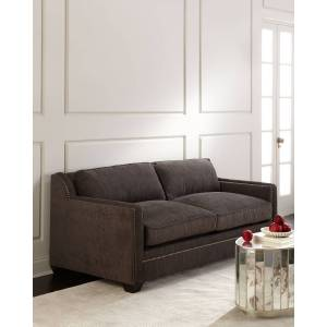 Old Hickory Tannery Flint Queen Sleeper Sofa  - Size: unisex