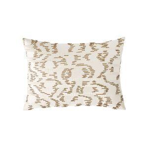 Michael Aram Watermark Embroidered Beaded Decorative Pillow  - Size: unisex
