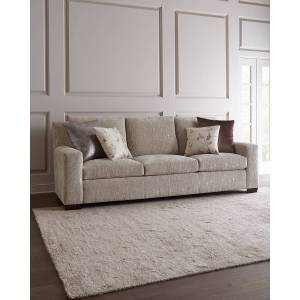 "Massoud Moorehead Sofa, 106""  - PLATINUM - Gender: unisex - Size: 93"" And Larger"