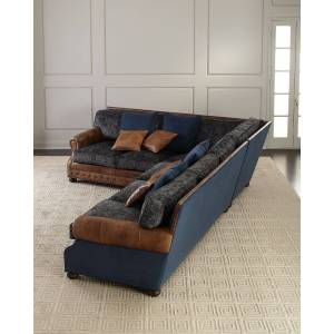 Old Hickory Tannery Brazos Left Return Sectional Sofa