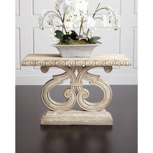 Peninsula Home Collection Adonia Entry Table - CREAM