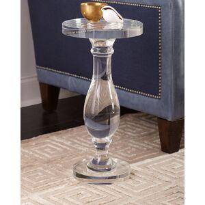 John-Richard Collection Crystal Martini Side Table