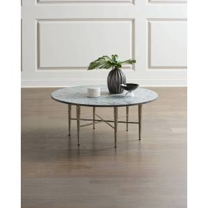 Global Views Hammered Nickel Coffee Table