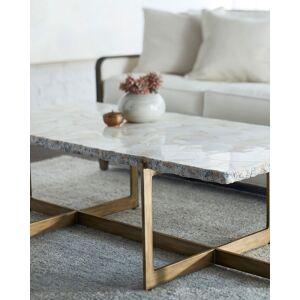 Palecek Jasmine Fossilized Clam Coffee Table