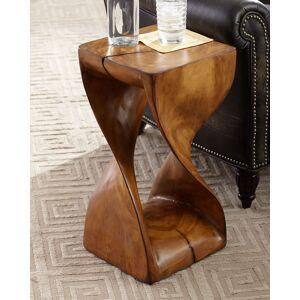 Palecek Caleb Faux Wood Drink Table