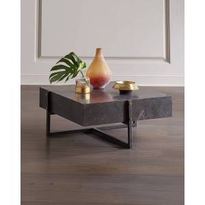 Isabella Blue Stone Coffee Table