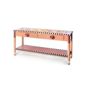 MacKenzie-Childs True Love Console Table
