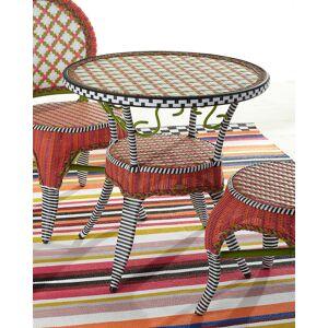 MacKenzie-Childs Breezy Poppy Outdoor Cafe Table