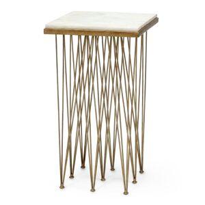 Palecek Naxos Marble Side Table