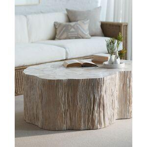 Palecek Camilla Fossilized Clam Coffee Table