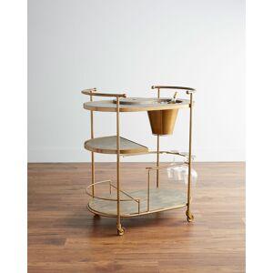 Tamara Art Deco Bar Cart