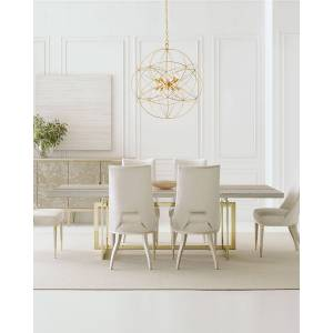 caracole Wish You Were Here Table - GOLD