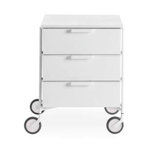 Kartell Mobil Mat 3-Drawer Table