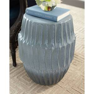 Jamie Young Algae Side Table - BLUE OMBRE