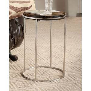 Hooker Furniture Telsa Accent Table - TIGER'S EYE