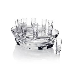 Baccarat Harcourt Abysse Caviar Set - Clear