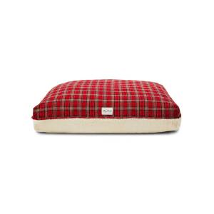 Harry Barker Plaid Sherpa Small Dog Bed