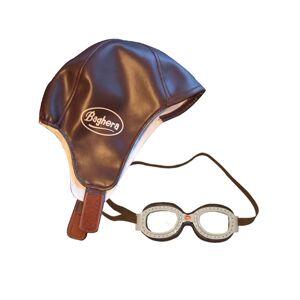 Baghera Racing Set w/ Aviator Goggles & Helmet