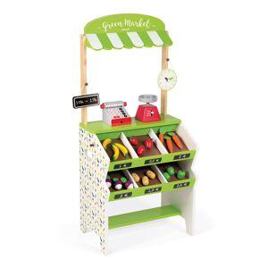 Juratoys Green Market Grocery Play Set