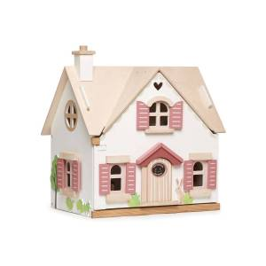 Tender Leaf Toys Cottontail Cottage Dollhouse