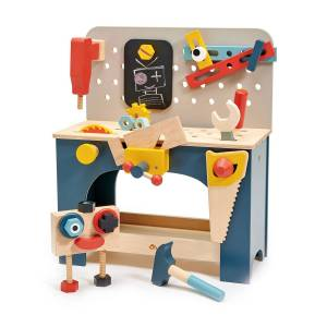 Tender Leaf Toys Tabletop Play Tool Bench