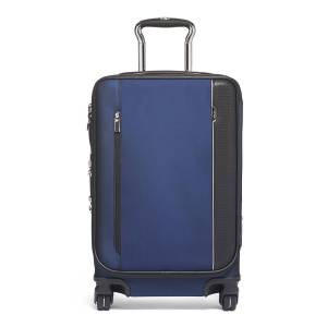 Tumi Arrive International Dual Access 4 Wheel Carryon Luggage - NAVY