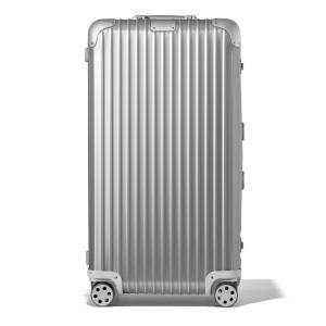 Rimowa Trunk Plus Spinner Luggage - SILVER