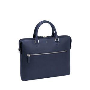 Montblanc Men's Sfumato Leather Document Case - BLUE