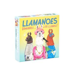 Chronicle Books Llamanoes, Dominoes with Llamas Game