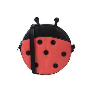 Stella McCartney Kids Girls' Faux-Leather Ladybug Crossbody Bag