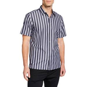 Theory Men's Irving Striped Short-Sleeve Sport Shirt