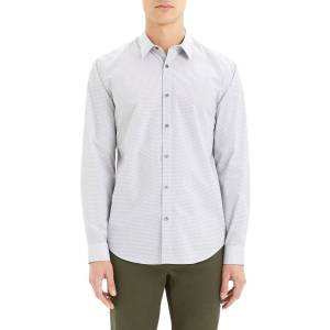 Theory Men's Irving Alberto-Print Sport Shirt