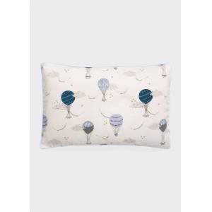 Gooselings Touch the Sky Toddler Pillow Set  - BLUE